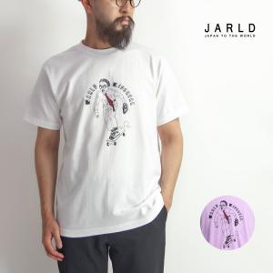 「JARLD(ジャールド)」から、ゆったりとしたサイズ感のTシャツにLID BREAK氏のグラフィッ...