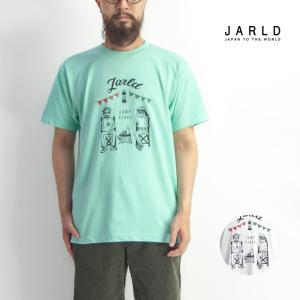 「JARLD(ジャールド)」から、ルーズなサイズ感のTシャツにLID BREAK氏のグラフィックを落...
