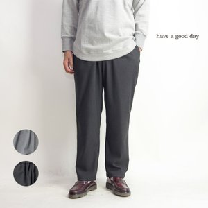 ワイドパンツ イージーパンツ リラックストラウザーズ 日本製 メンズ|marcarrows