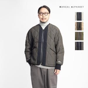 マニュアルアルファベット ナンガ MANUAL ALPHABET NANGA ダウンジャケット ノーカラー 日本製 メンズ|marcarrows