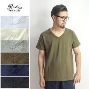 半袖Tシャツ Vネック 無地 ヘビー メンズ|marcarrows