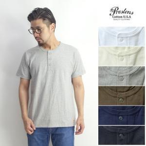 半袖Tシャツ ヘンリーネック 無地 ヘビー メンズ|marcarrows