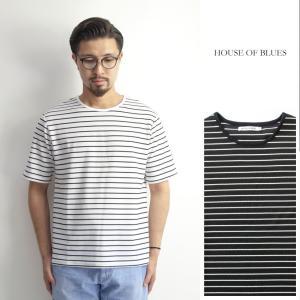 半袖Tシャツ 細ボーダー ワッフル メンズ|marcarrows