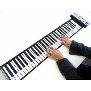 zmayastar コンパクトでどこでも持ち運べる バンドロール 電子 (61鍵盤) ピアノ 電子キーボード61標準鍵 Lee - 103|march-shop