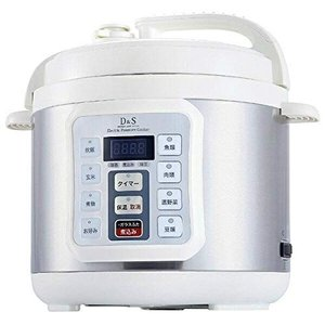D&S(ディーアンドエス) 電気圧力鍋4.0L STL-EC50|march-shop