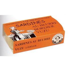 イワシのボルディエ柚子バター漬け 115g フランス産...