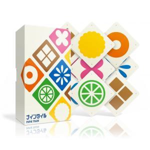 「ナインタイル」は、判断の早さと記憶力が問われるテーブルゲームです。手元にある9枚のタイルを誰よりも...