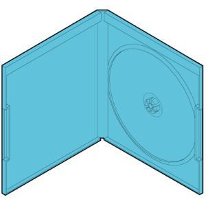 ブルーレイケース 12mm厚 1枚用 120枚セット/BD-001|margherita