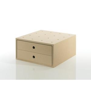 書類棚 木製 A4 収納ボックス 引き出し 2杯 木製 box ゆったり収納|margherita
