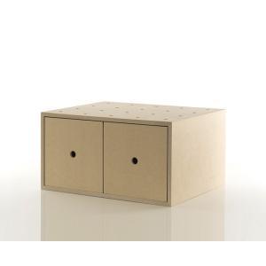 EPレコード収納 レコードラック EP 収納ボックス 引き出し 木製|margherita