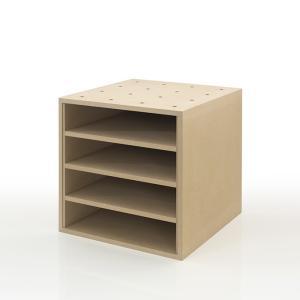 書類ラック A4 収納ボックス 木製 box 整理箱|margherita