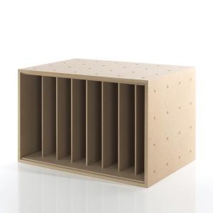 レコードラック おしゃれ レコード棚 収納ボックス 木製 box 整理棚|margherita