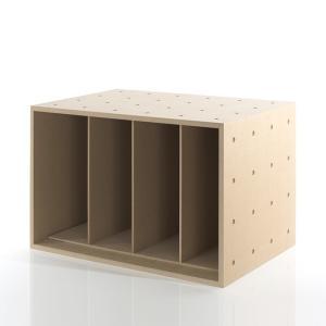 本棚 収納ボックス 木製 シンプル ブックシェルフ 本 雑誌 収納 BLC-12-D2a|margherita
