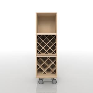 ワインの収納(BLC-08×1、BLC-08×W×1、BLC-08-W2×1、BLC-08-BX×1)/BLC組み合わせ BLC-FLOOR-SET-13|margherita