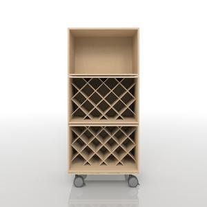 ワインの収納(BLC-12×1、BLC-12×W×2、BLC-12-BX×1)/BLC組み合わせ BLC-FLOOR-SET-14|margherita