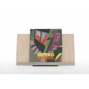 ブックスタンド おしゃれ 本立て 木製 W450 ディスプレイ台 展示什器 A4サイズ 2冊分 Piega ピエガ|margherita