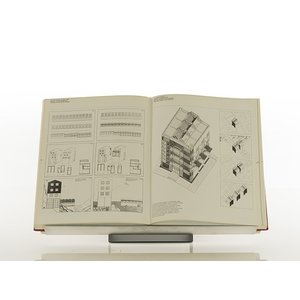 読書スタンド ブックスタンド 書見台 角度調整機能付き 幅450mm タイプ Piega ピエガ margherita