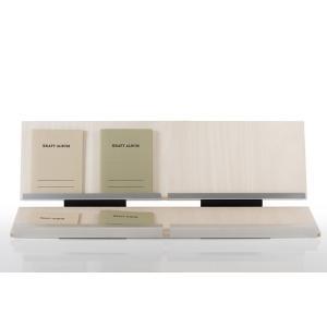 カタログスタンド 卓上 木製 展示ラック ディスプレイ什器 W900 Piega ピエガ|margherita