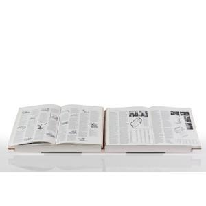 ブックスタンド 見開き 厚い本 展示 書見台 スタンド 本立て W900 Piega ピエガ|margherita
