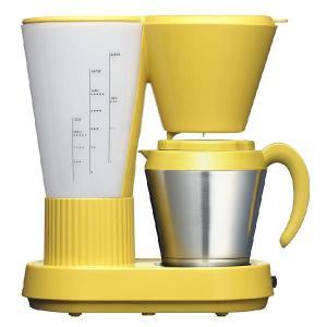 コーヒーメーカー(パンプキンイエロー・サーモポット)・Brunopasso(ブルーノパッソ)/devicestyle(デバイスタイル)|margherita