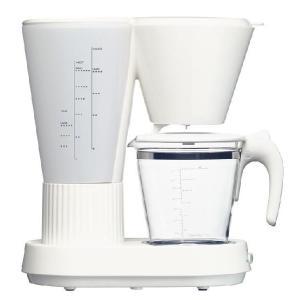 コーヒーメーカー(ホワイト・ガラスポット)・Brunopasso(ブルーノパッソ)/devicestyle(デバイスタイル)|margherita