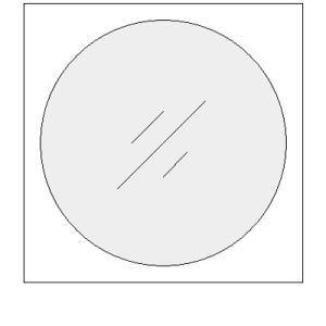 CD用 紙ジャケット 封筒型 片面セロファン窓付き 200枚セット/CD-003|margherita