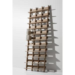 CDシェルフ 壁立掛けCD棚 CD収納 シェルフラック (天然木集成材) シェルフ棚 木製 大容量 500枚|margherita