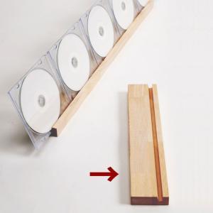 CDスタンド 木製/CDST-02|margherita