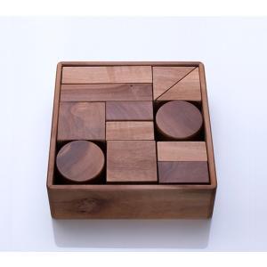 知育玩具 安全 わはらんど りんご積み木 木村木品製作所|margherita
