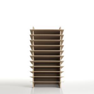 書類トレー A4 木製 多段式 トレイ オフィス家具|margherita