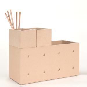 収納小箱とBLC収納ボックスの組み合わせ02(CST-02×2、BLC-02×1)|margherita
