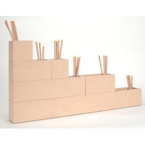 収納小箱 組み合わせ05(CST-01×2、CST-02×2、CST-04×1、CST-08×1)|margherita