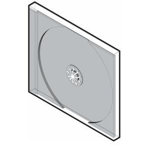 DVDケース 1枚用 標準プラケース 100枚セット/DVD-003-CD-006|margherita