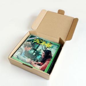 EPレコード用 段ボールボックス 組み立て式 50箱セット/EP-007 margherita