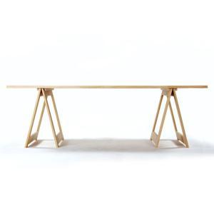 ガーデンテーブル1 幅2400mm(屋外テーブル 屋外用テーブル ガーデンファニチャー 屋外家具 木製 デザイン)EXA-GT-01-2400/マルゲリータ|margherita