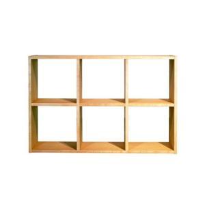 ブックシェルフ 本棚 H680 メープル 国産 日本製 金具不使用 杉工場 木と風|margherita