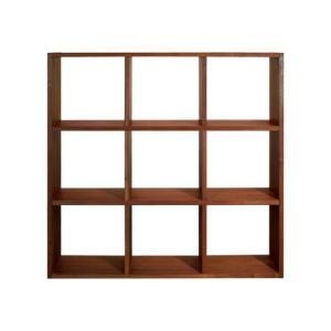ブックシェルフ 本棚 H1010 ウォールナット 国産 日本製 金具不使用 杉工場 木と風|margherita