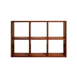 ブックシェルフ 本棚 H680 ウォールナット 国産 日本製 金具不使用 杉工場 木と風|margherita