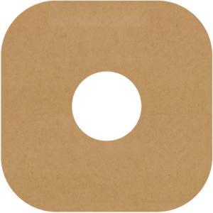 LPレコード用 インナージャケット 紙製 両穴 角丸 茶 100枚セット/LP-006-KR|margherita