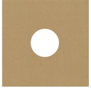 LPレコード用 厚紙ジャケット 両穴 クラフト茶 50枚セット/LP-008-KR|margherita