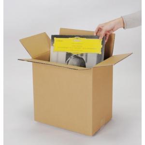 LPレコード用 段ボール箱 50枚用 縦置き 10箱セット/LP-026