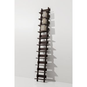 CDシェルフ ラック (天然木集成材) 収納ラック シェルフ棚 木製 おしゃれ 150枚|margherita