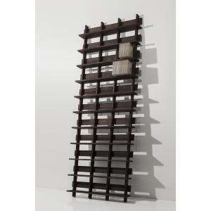 CDシェルフ ラック (天然木集成材) 収納ラック シェルフ棚 木製 大容量 500枚 margherita