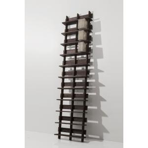 CDシェルフ (天然木集成材) 収納ラック シェルフ 木製CDラック シンプル 300枚 margherita