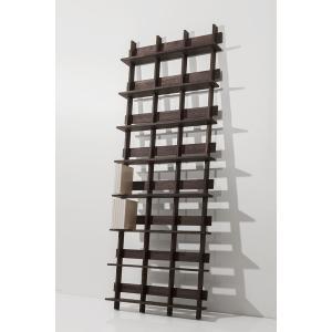 ディスプレイ収納 DVDシェルフ (天然木集成材) 収納ラック 木製 大容量 300枚|margherita