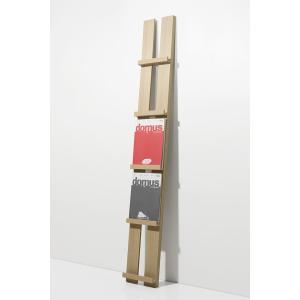 壁掛け 雑誌ラック オフィス雑誌ラック マガジンラック 木製 本展示 ブックシェルフ おしゃれ margherita