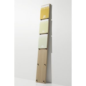 マガジンラック 本を飾る ディスプレイ 壁立て掛け|margherita