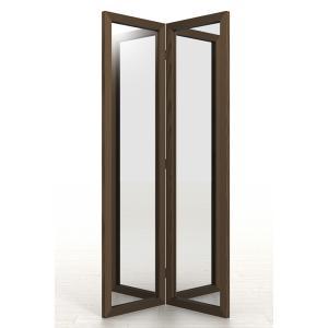 大きな姿見 二面鏡 全身鏡 大型 大きい 折りたたみ|margherita