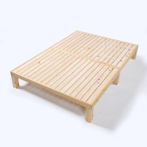 すのこベッド ダブル 檜 ヒノキ 国産 送料無料|margherita