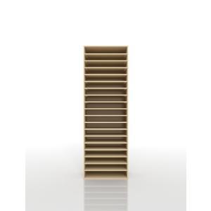 楽譜整理棚 A3 譜面収納 木製 スライドトレー margherita